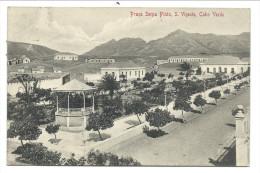 ///  CPA - Afrique - CAP VERT - CABO VERDE -  Praça Serpa Pinto - St Viçente  // - Cap Vert
