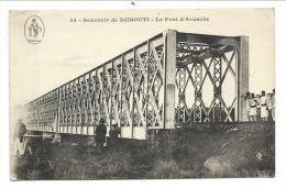 ///  CPA - Afrique - Souvenir De DJIBOUTI - Le Pont D'Aouache   // - Djibouti