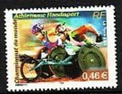 2002-N°3495** ATHLETHISME HANDISPORT. - Neufs
