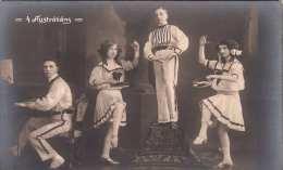 Die 4 AUSTRALIANS - Variete - Alte Fotokarte Um 1920? - Zirkus