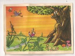 """Image N° 115 De L´album """"Les Fables De La Fontaine"""". Volume 2. 1952. Chocolat Menier. Signé Erik - Menier"""