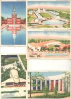 NEW YORK WORLD´S FAIR 1939 COMPOSITION 17 CPA DIFFERENTE DOS DIVISE UNCIRCULATED TBE RARISIME ET BELLE COMPOSITION - Tentoonstellingen
