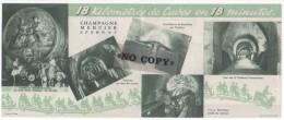 LE  CHAMPAGNE  MERCIER  ( Épernay  )  Publicité - Werbung