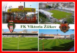 AK Stadion Postkarte FK Viktoria Žižkov Zizkov Prag Praha Prague Czech Republic Fußball Football Stadium Stadio Estadio - Soccer