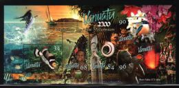 Vanuatu - 1999 Millennium Block MNH__(THB-3073) - Vanuatu (1980-...)