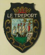 Ecusson Brodé LE TRÉPORT (FRANCE) - Patches