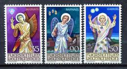 Liechtenstein 1986 / Religion Archangels MNH Arcángeles / Jc29  34-5 - Christianisme
