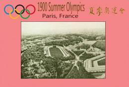 (NZ19-010 )  Stadium   1900 Paris  , Olympic Games , Postal Stationery-Postsache F - Summer 1900: Paris