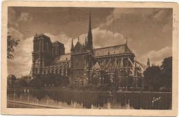 I3348 Paris - Notre Dame / Viaggiata 1951 - Annullo Pubblicitario Reboiser - Notre Dame De Paris