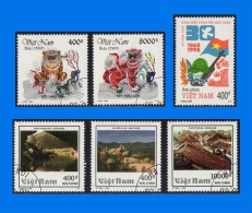 VN 1998-0001, Year Set, CTO/MNH (11 Scans) - Vietnam