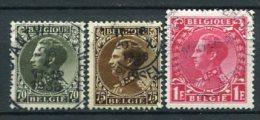 Belgien Nr.393/5        O Used       (364) - 1934-1935 Leopold III.