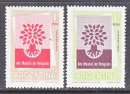ARGENTINA 710-11   **   WRY - Argentina