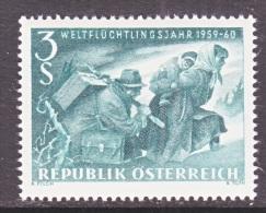 AUSTRIA  650   **   WRY - 1945-60 Unused Stamps