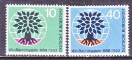 GERMANY  807-8   **   WRY - Unused Stamps