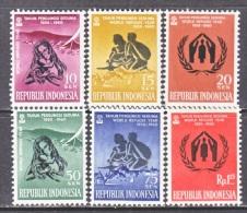 INDONESIA  488-93   **   WRY - Indonesia