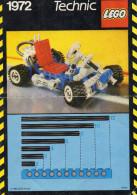 CATALOGUE LEGO  1972  Technic - Catalogues