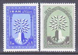 IRAN  1154-5   **   WRY - Iran