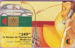 Télécarte Cameroun °° 3000f  -  3RP Réseau Moderne  *  T B E - Cameroun