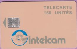 Télécarte Cameroun °° Intelcam  150 Unités  -  N° 12  --  Sc7 .  Flèche 13  *  T B E - Cameroun