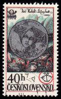 CZECHOSLOVAKIA - Scott #2162 Medal Of Culture (*) / Used Stamp - Czechoslovakia
