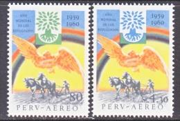 PERU  C 163-4   **   WRY - Peru