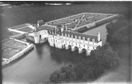 PP - 136 - LOIR ET CHER - CHEVERNY - Le Chateau -  Rare Plaque Photo - Plaques De Verre