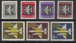 DDR,Airmail 1957.,MNH - [6] Democratic Republic
