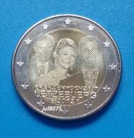 2 Euro Commemorative Luxembourg 2012 Mariage  PIECE NEUVE UNC - Luxembourg