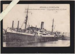 Sierra Ventana - Ex Navire Boche En Charge - Telegraphie Sans Fil à Bord - Voir état - Guerre