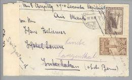 Kanada Canada Montreal 1945-02-25 Zensurbrief Mit Inhalt Nach Langenthal CH - 1937-1952 Règne De George VI
