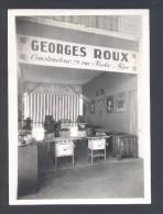 ALGER Salon Des Arts Ménagers 1935 Photo Du Stand Georges ROUX Cuisiniéres L DESSAULT Photo Industrielle Alger - Métiers