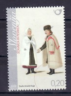 1147/ Slowenien Slovenia 2008 MiNr. 669 ** MNH Volkstracht National Costumes - Eslovenia