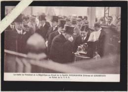 *paris - Salon De La T.S.F. - President Republique (albert Lebrun) Au Stand Deshayes & Courtois - Sonstige