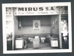 ALGER Salon Des Arts Ménagers 1935 Photo Du Stand MIRUS S.A. Cuisiniéres L DESSAULT Photo Industrielle Alger - Métiers
