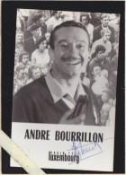 T.S.F. - André Bourrillon Animateur Radio Luxembourg - Dédicacé - Verso Vierge Non Carte Postale - Cartoline