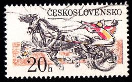 CZECHOSLOVAKIA - Scott #2203 Pardubice Steelplechase (*) / Used Stamp - Czechoslovakia