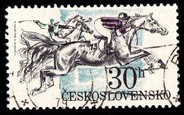CZECHOSLOVAKIA - Scott #2204 Pardubice Steelplechase (*) / Used Stamp - Czechoslovakia