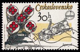 CZECHOSLOVAKIA - Scott #2221 Astronaut Aleksei Gubarev (*) / Used Stamp - Czechoslovakia