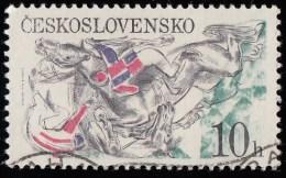 CZECHOSLOVAKIA - Scott #2202 Pardubice Steelplechase (*) / Used Stamp - Czechoslovakia