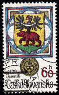 CZECHOSLOVAKIA - Scott #2241 Arms Of Vlachovo Brezi (*) / Used Stamp - Czechoslovakia