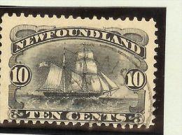 Kanada Canada Neufundland 1887 Mi# 39 Gestempelt - Terre-Neuve