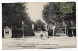 CHATELAILLON --1918--Entrée Du Parc Municipal ( Animée,vélos,cyclistes) N°94 éd Bergevin---à Saisir - Châtelaillon-Plage
