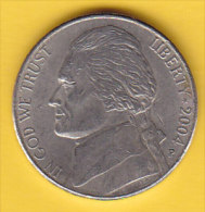 """USA - 2004 Circulating 5¢ Coin """"Louisiana Purchase"""" (#2004-05-01) - Federal Issues"""