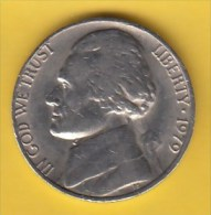 USA - 1979 Circulating 5¢ Coin (#1979-05-01) - Federal Issues