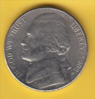 USA - 2002 Circulating 5¢ Coin (#2002-05-01) - Federal Issues
