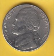 USA - 2002 Circulating 5¢ Coin (#2002-05-01) - 1938-…: Jefferson