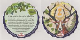 Zwettler Brauerei Österreich Edition , 2011 , Nr 5/6 - Wald Ist Nahrungsquelle - Sous-bocks