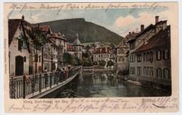 """1901, """" Wildbad, König Karl Stasse """"   #2310 - Deutschland"""