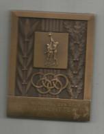 Medaille , Office Municipal Des Sports , PIERREFITTE , 150 Gr , 6x 7.5 Cm , Frais Fr : 5.50€ - Professionnels / De Société