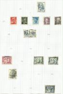 Tchécoslovaquie N°491, 493 à 497, 498, 504, 406 à 508, 513 Cote 4.80 Euros - Czechoslovakia